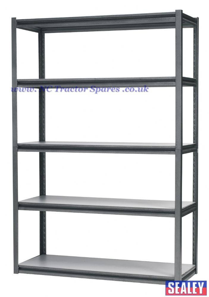 Racking Unit with 5 Shelves 600kg Capacity Per Level